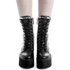 eb834c339cd Killstar Shoes - Killstar Eternal Eclipse platform boots goth punk